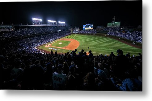 Animal Metal Print featuring the photograph Mlb Oct 29 World Series - Game 4 - by Icon Sportswire