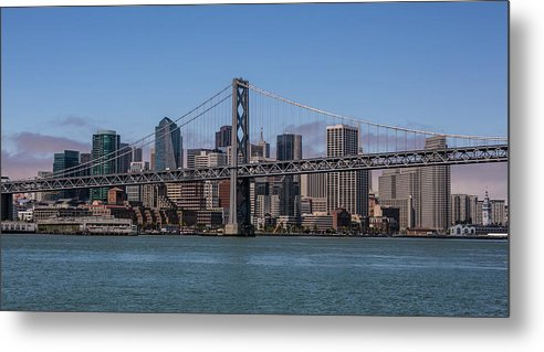 Scenics Metal Print featuring the photograph Taking The San Francisco Bay Ferry To by George Rose
