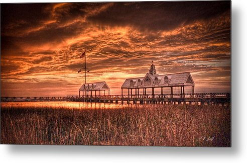 Charleston Metal Print featuring the photograph Charleston View by E R Smith