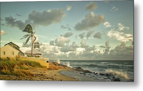 Florida Metal Print featuring the photograph House Of Refuge by Steve DaPonte