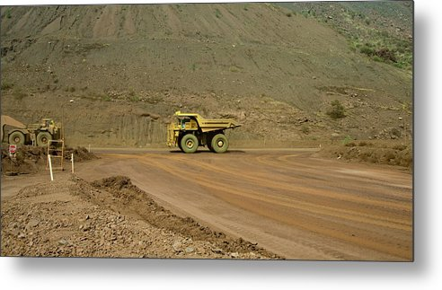 Southern Hemisphere Metal Print featuring the photograph Tom Price Earthmover by Samvaltenbergs