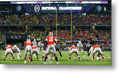 Ohio State Buckeyes Metal Print featuring the photograph National Championship - Oregon V Ohio by Kevin C. Cox