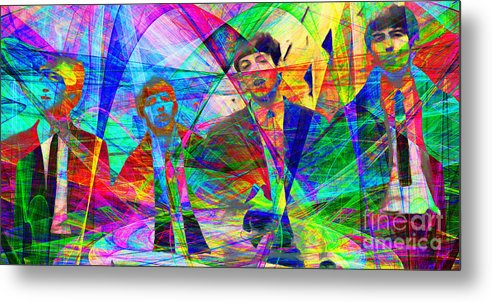 Wingsdomain Metal Print featuring the photograph Strawberry Fields Forever 20130615 by Wingsdomain Art and Photography