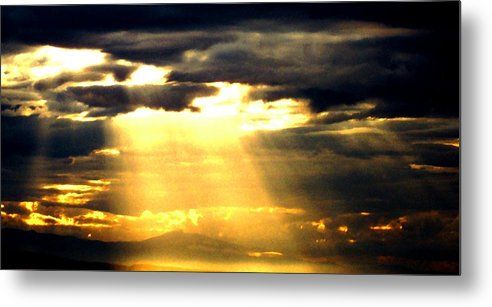 Inspirational Metal Print featuring the photograph Faith by James Harper