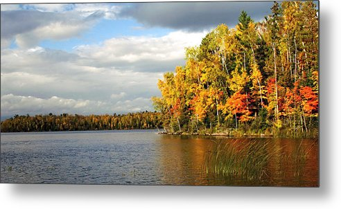 Minnesota Metal Print featuring the photograph Maple Lake by Bill Morgenstern