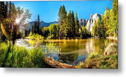 Yosemite National Park Metal Print featuring the photograph Nature's Awakening by Az Jackson