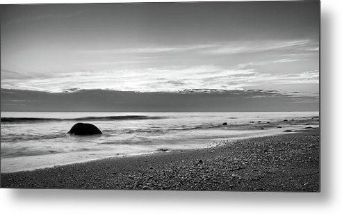 Water Metal Print featuring the photograph Low Tide 4 by Steve DaPonte