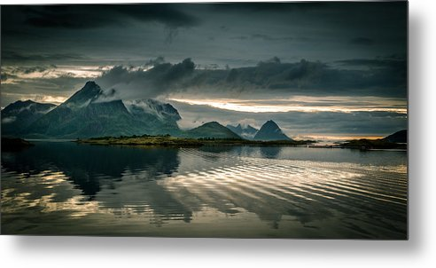 Tranquility Metal Print featuring the photograph Norway Landscape by Nature And Beauty Photographer