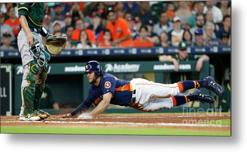 People Metal Print featuring the photograph Jake Marisnick by Bob Levey
