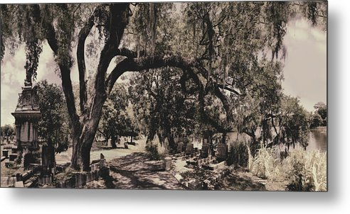 Castle Metal Print featuring the photograph Magnolia Cemetery by James Christopher Hill