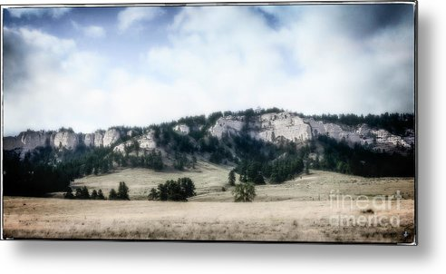 Fine Art Photography Metal Print featuring the photograph NW Nebraska by John Strong