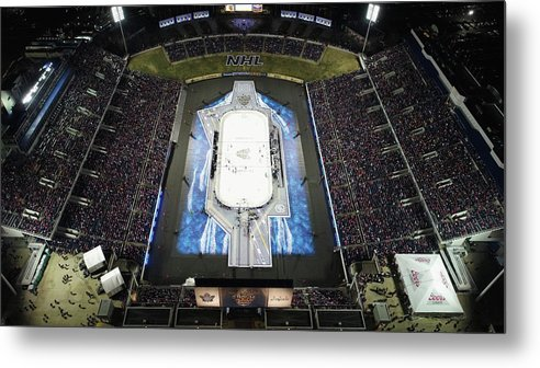 National Hockey League Metal Print featuring the photograph 2018 Coors Light Nhl Stadium Series - by Nicole Abbett