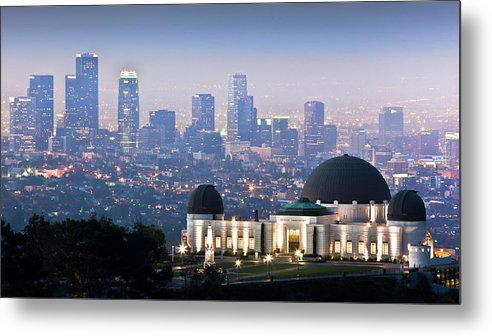 Downtown District Metal Print featuring the photograph Higher Ground by Andrew Kennelly