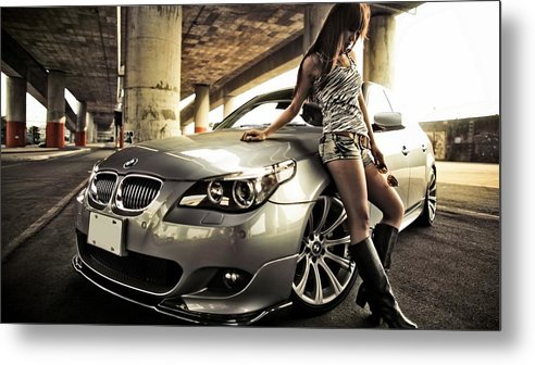 Bmw Metal Print featuring the photograph BMW by Jackie Russo