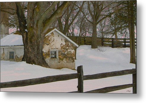 Brandywine Metal Print featuring the photograph A Brandywine Winter by Gordon Beck