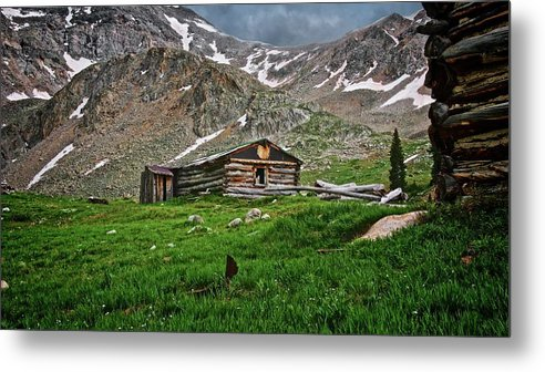 Nature Metal Print featuring the photograph Mother Nature's Reclamation Process, by Zayne Diamond Photographic