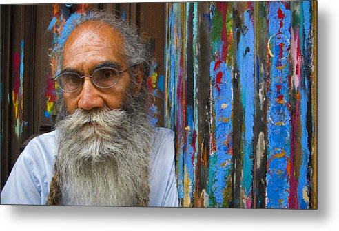 Architecture Metal Print featuring the photograph Orizaba Painter by Skip Hunt