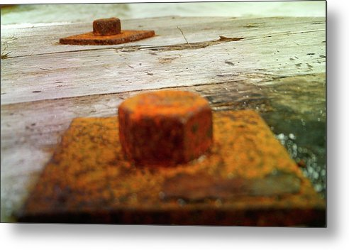 Rust Metal Print featuring the photograph Rust by Barbara Palmer