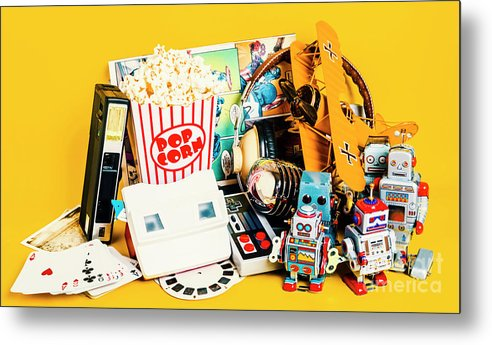 Toy Metal Print featuring the photograph Collectible Corner by Jorgo Photography - Wall Art Gallery