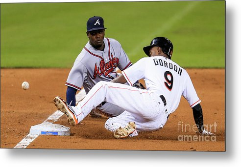 People Metal Print featuring the photograph Dee Gordon by Rob Foldy