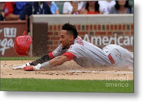 Three Quarter Length Metal Print featuring the photograph Billy Hamilton by Dylan Buell