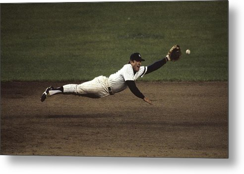 1980-1989 Metal Print featuring the photograph Graig Nettles by Ronald C. Modra/sports Imagery