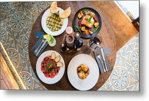 Holiday Metal Print featuring the photograph Jewish cuisine by JcBonassin all rights Reserved