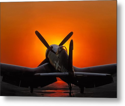 Sunset Corsair by Paul Leverington