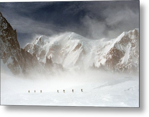 Mont Blanc Metal Print featuring the photograph Mont Blanc by Andrea Gabrieli