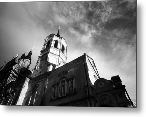 Church Metal Print featuring the photograph Catholic Church Tomsk Siberia Russia by Susan Chandler