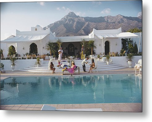 People Metal Print featuring the photograph El Venero by Slim Aarons