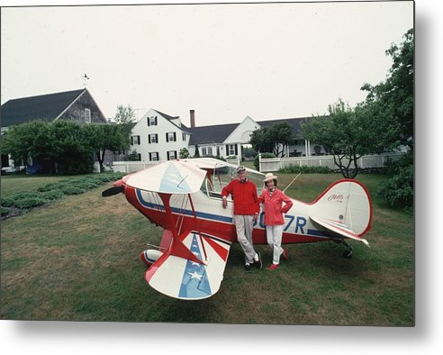 People Metal Print featuring the photograph Flying Beetle by Slim Aarons