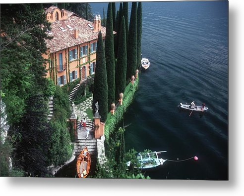 1980-1989 Metal Print featuring the photograph Giacomo Montegazza by Slim Aarons