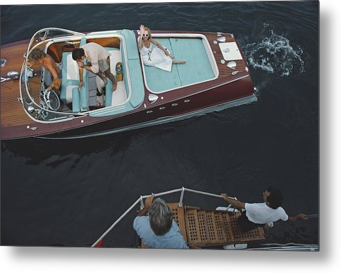 People Metal Print featuring the photograph Monte Carlo by Slim Aarons