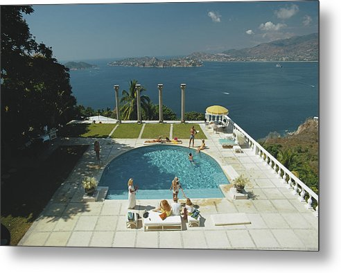 Child Metal Print featuring the photograph Nirvana by Slim Aarons