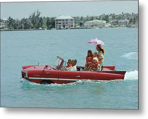 Child Metal Print featuring the photograph Sea Drive by Slim Aarons
