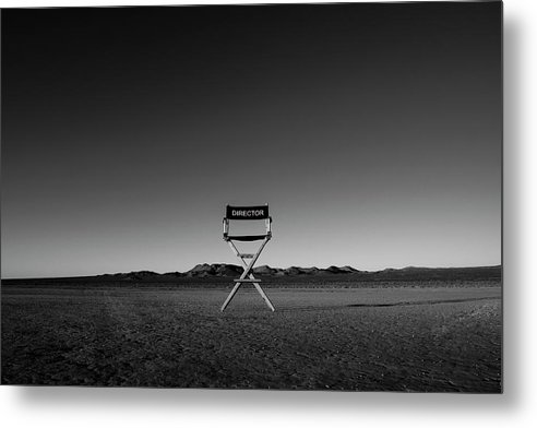 Metal Print featuring the photograph Director's Cut by Brendan North