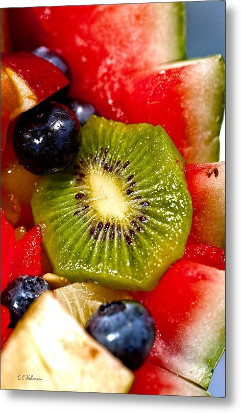 Fruit Metal Print featuring the photograph Refreshing by Christopher Holmes