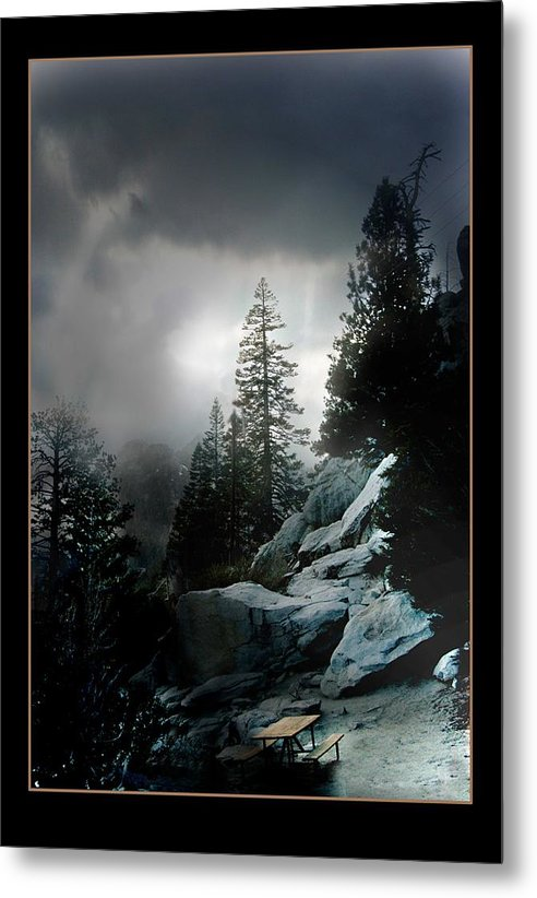 Landscape Metal Print featuring the photograph Above Palm Springs by Richard Gordon