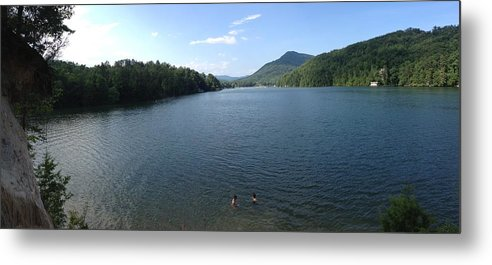 Lake Metal Print featuring the photograph Euphoria In The Mountains by Cameron Kinsey