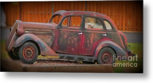 Beautifully Aged Metal Print featuring the photograph Beautifully Aged by John Malone