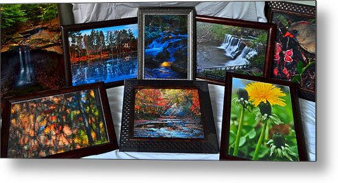Collector Metal Print featuring the photograph The Art Collector by Frozen in Time Fine Art Photography