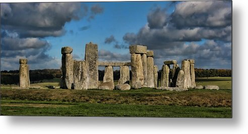 Stonehenge Metal Print featuring the photograph Stonehenge by Heather Applegate