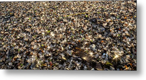 America Metal Print featuring the photograph Glass Beach by Alan Kepler