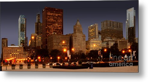 Chicago Metal Print featuring the photograph Cicago by Jt PhotoDesign