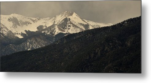 Metal Print featuring the photograph High Mountains Of Taos by Jim ODonnell
