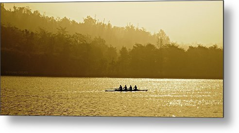 Team Metal Print featuring the photograph Together We Go by Vishal Gulati