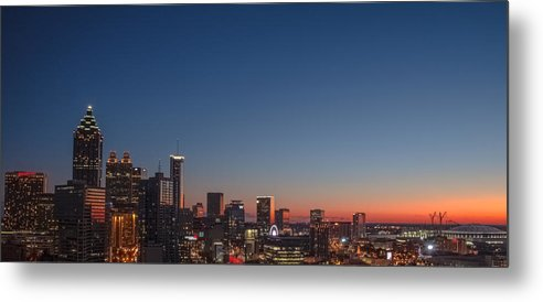 Downtown Metal Print featuring the photograph Atlanta by Mike Dunn
