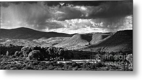 Metal Print featuring the photograph Athletic Field Cottonwood Hs by Arne Hansen