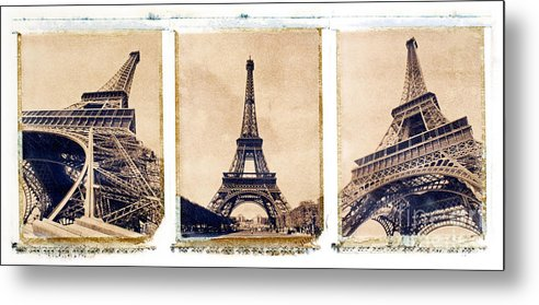 Eiffel. Tower Metal Print featuring the photograph Eiffel Tower by Tony Cordoza